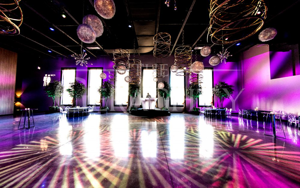 The Geraghty, Kehoe Designs, Event Venue, Event Space, Chicago Event Space, Open Floorplan, Chicago Venue, Sophisticated Space, Technical Production, Full-Service Venue